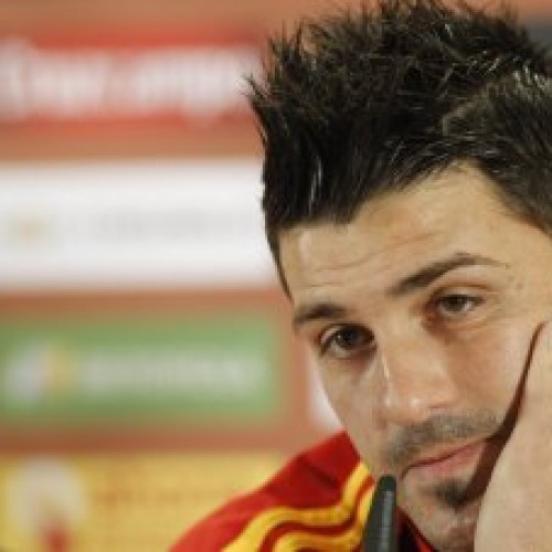 Striker Tim Nasional Spanyol, David Villa