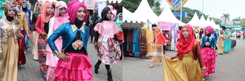 Parade Fashion Show Para Peserta