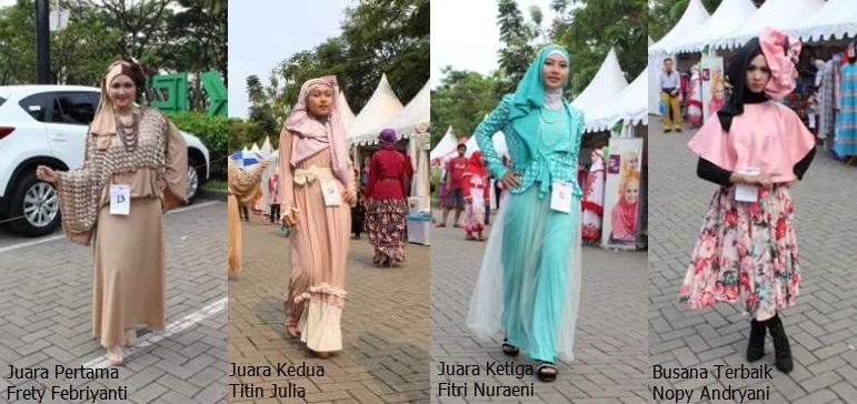 Para Pemenang Fashion Show Contest