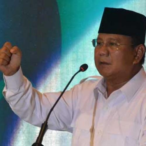 Calon Presiden Nomor Urut 1, Prabowo Subianto