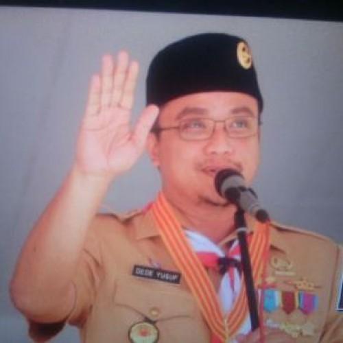 Ketua Kwartir Daerah Jawa Barat, H. Dede Yusuf