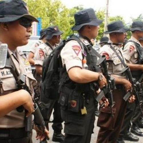pasukan polisi