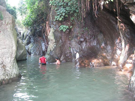 Lokasi di Dusun Cipaga yang mirip dengan Green Canyon di Pangandaran
